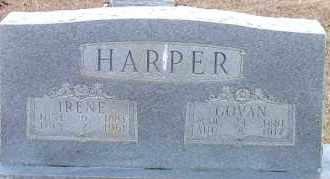 VINSON HARPER, ELIZABETH IRENE - Cleveland County, Arkansas | ELIZABETH IRENE VINSON HARPER - Arkansas Gravestone Photos