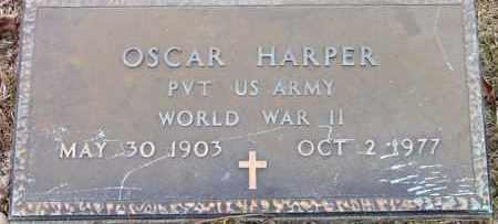 HARPER (VETERAN WWII), OSCAR - Cleveland County, Arkansas | OSCAR HARPER (VETERAN WWII) - Arkansas Gravestone Photos