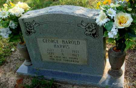 HARRIS, GEORGE HAROLD - Cleveland County, Arkansas | GEORGE HAROLD HARRIS - Arkansas Gravestone Photos