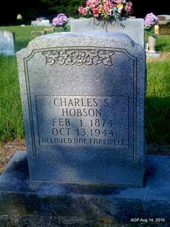 HOBSON, CHARLES S - Cleveland County, Arkansas | CHARLES S HOBSON - Arkansas Gravestone Photos