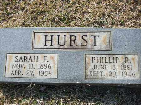 HURST, PHILLIP R. - Cleveland County, Arkansas   PHILLIP R. HURST - Arkansas Gravestone Photos