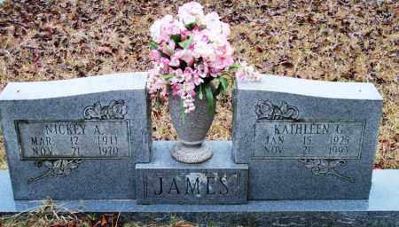 JAMES, NICKEY A - Cleveland County, Arkansas | NICKEY A JAMES - Arkansas Gravestone Photos