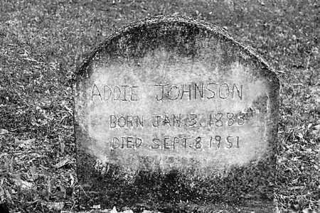 WATSON JOHNSON, ADDIE - Cleveland County, Arkansas | ADDIE WATSON JOHNSON - Arkansas Gravestone Photos