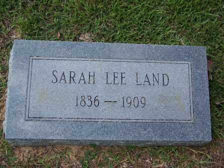 LAND LEE, SARAH - Cleveland County, Arkansas | SARAH LAND LEE - Arkansas Gravestone Photos