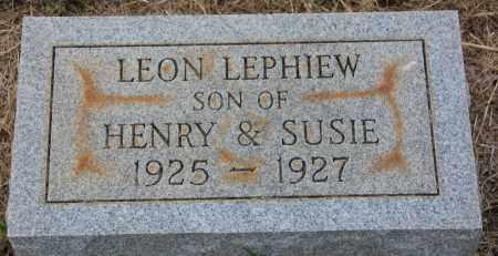 LEPHIEW, LEON - Cleveland County, Arkansas | LEON LEPHIEW - Arkansas Gravestone Photos