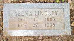 LINDSEY, SELMA - Cleveland County, Arkansas   SELMA LINDSEY - Arkansas Gravestone Photos