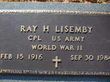 LISEMBY (VETERAN WWII), RAY H. - Cleveland County, Arkansas   RAY H. LISEMBY (VETERAN WWII) - Arkansas Gravestone Photos
