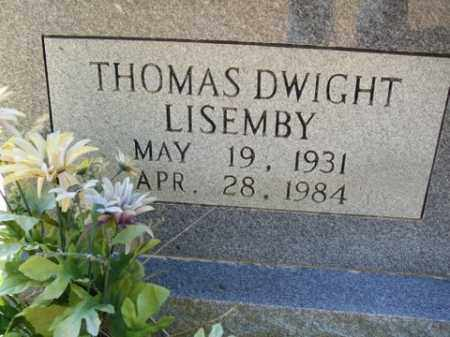 LISEMBY, THOMAS DWIGHT - Cleveland County, Arkansas | THOMAS DWIGHT LISEMBY - Arkansas Gravestone Photos