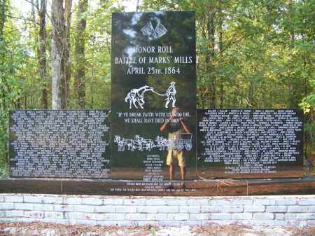*MONUMENT TO FALLEN SOLDIER CS,  - Cleveland County, Arkansas |  *MONUMENT TO FALLEN SOLDIER CS - Arkansas Gravestone Photos