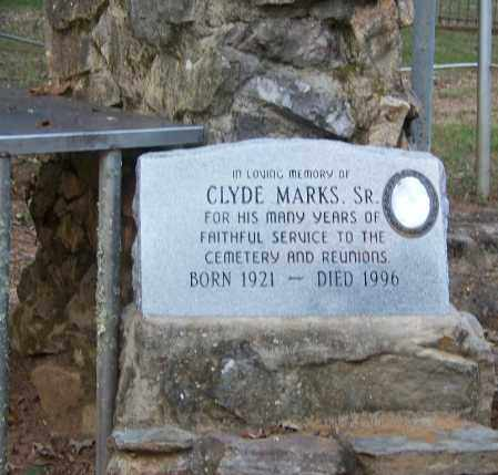 MARKS, SR., CLYDE - Cleveland County, Arkansas | CLYDE MARKS, SR. - Arkansas Gravestone Photos
