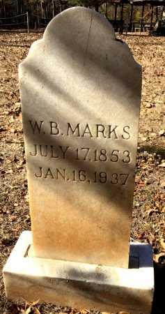 MARKS, W. B. - Cleveland County, Arkansas | W. B. MARKS - Arkansas Gravestone Photos