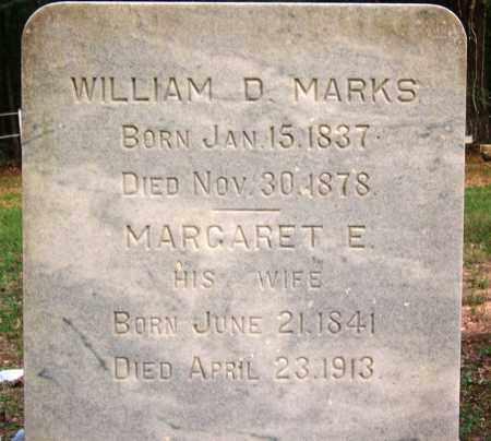 MARKS, WILLIAM D - Cleveland County, Arkansas | WILLIAM D MARKS - Arkansas Gravestone Photos