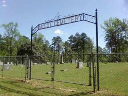 *MCCOY CEMETERY GATE,  - Cleveland County, Arkansas |  *MCCOY CEMETERY GATE - Arkansas Gravestone Photos