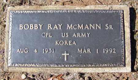MCMANN, SR. (VETERAN KOR), BOBBY RAY - Cleveland County, Arkansas | BOBBY RAY MCMANN, SR. (VETERAN KOR) - Arkansas Gravestone Photos