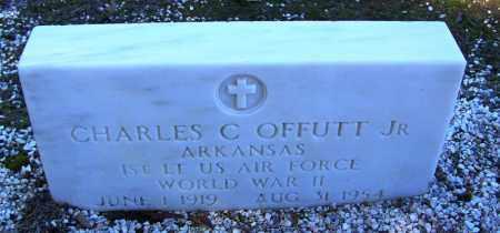 OFFUTT, JR. (VETERAN WWII), CHARLES C - Cleveland County, Arkansas | CHARLES C OFFUTT, JR. (VETERAN WWII) - Arkansas Gravestone Photos