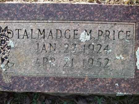 PRICE, TALMADGE M. - Cleveland County, Arkansas | TALMADGE M. PRICE - Arkansas Gravestone Photos
