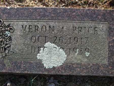 PRICE, VERON A. - Cleveland County, Arkansas   VERON A. PRICE - Arkansas Gravestone Photos