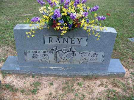 """RANEY, BYRON R """"RED"""" - Cleveland County, Arkansas   BYRON R """"RED"""" RANEY - Arkansas Gravestone Photos"""
