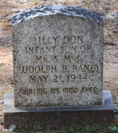RANEY, BILLY DON - Cleveland County, Arkansas | BILLY DON RANEY - Arkansas Gravestone Photos