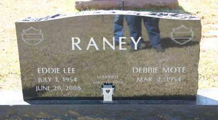 RANEY, EDDIE LEE - Cleveland County, Arkansas   EDDIE LEE RANEY - Arkansas Gravestone Photos