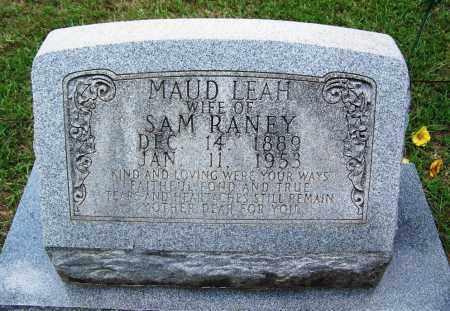 RANEY, MAUD LEAH - Cleveland County, Arkansas   MAUD LEAH RANEY - Arkansas Gravestone Photos
