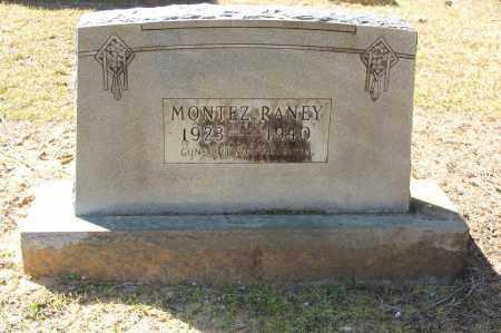 RANEY, MONTEZ - Cleveland County, Arkansas   MONTEZ RANEY - Arkansas Gravestone Photos
