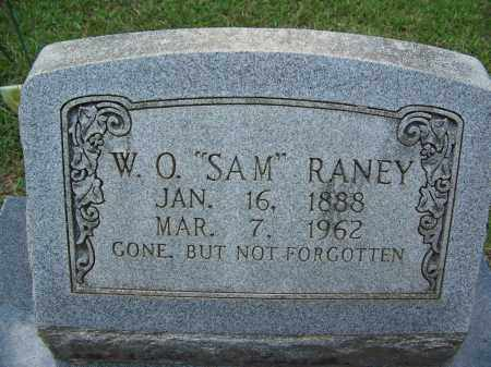 "RANEY, W O ""SAM"" - Cleveland County, Arkansas 
