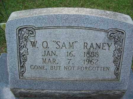 "RANEY, W O ""SAM"" - Cleveland County, Arkansas   W O ""SAM"" RANEY - Arkansas Gravestone Photos"
