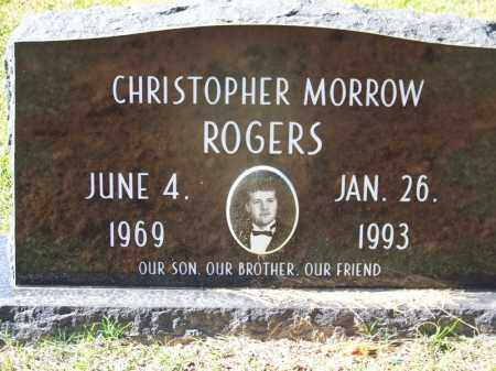 ROGERS, CHRISTOPHER MORROW - Cleveland County, Arkansas | CHRISTOPHER MORROW ROGERS - Arkansas Gravestone Photos
