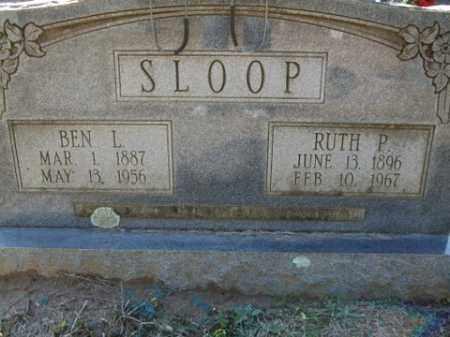 SLOOP, BEN L. - Cleveland County, Arkansas | BEN L. SLOOP - Arkansas Gravestone Photos