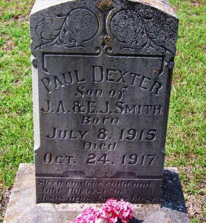 SMITH, PAUL DEXTER - Cleveland County, Arkansas | PAUL DEXTER SMITH - Arkansas Gravestone Photos
