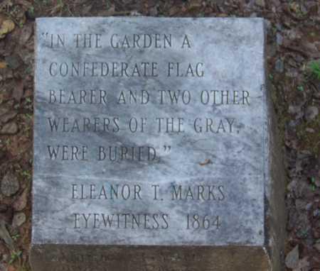 SOLDIER (VETERAN CSA), THREE UNKNOWN - Cleveland County, Arkansas | THREE UNKNOWN SOLDIER (VETERAN CSA) - Arkansas Gravestone Photos