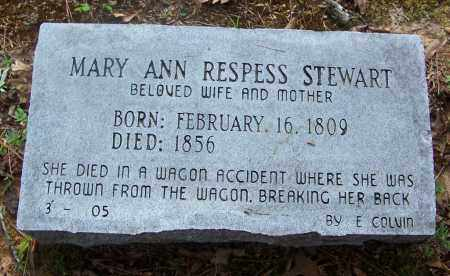STEWART, MARY ANN - Cleveland County, Arkansas | MARY ANN STEWART - Arkansas Gravestone Photos