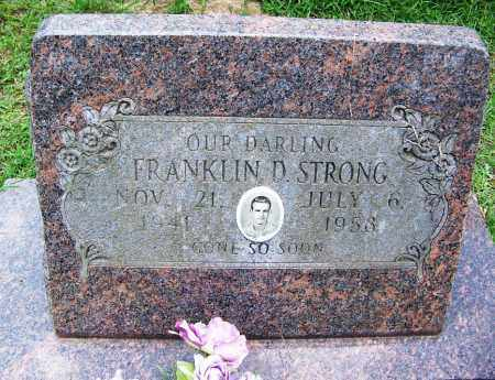 STRONG, FRANKLIN D - Cleveland County, Arkansas | FRANKLIN D STRONG - Arkansas Gravestone Photos