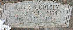GOLDEN THOMPSON, LILLIE R - Cleveland County, Arkansas | LILLIE R GOLDEN THOMPSON - Arkansas Gravestone Photos