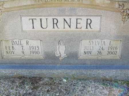TURNER, DAIL R. - Cleveland County, Arkansas | DAIL R. TURNER - Arkansas Gravestone Photos