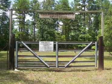 *WATSON- GUM GROVE GATE/SIGN, . - Cleveland County, Arkansas | . *WATSON- GUM GROVE GATE/SIGN - Arkansas Gravestone Photos
