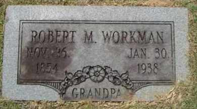 WORKMAN, ROBERT M. - Cleveland County, Arkansas | ROBERT M. WORKMAN - Arkansas Gravestone Photos