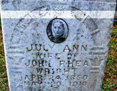 WRIGHT, JULY ANN - Cleveland County, Arkansas | JULY ANN WRIGHT - Arkansas Gravestone Photos