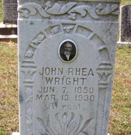 WRIGHT, JOHN RHEA - Cleveland County, Arkansas | JOHN RHEA WRIGHT - Arkansas Gravestone Photos
