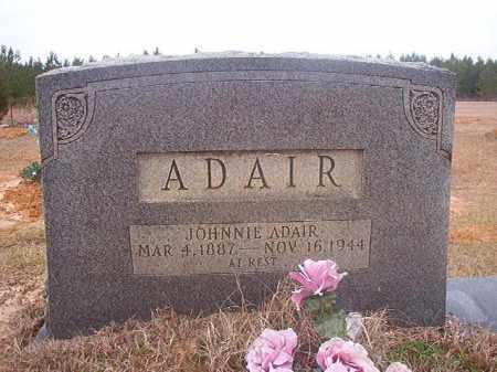 ADAIR, JOHNNIE - Columbia County, Arkansas | JOHNNIE ADAIR - Arkansas Gravestone Photos