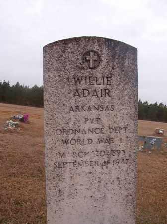 ADAIR (VETERAN WWI), WILLIE - Columbia County, Arkansas | WILLIE ADAIR (VETERAN WWI) - Arkansas Gravestone Photos