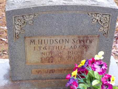 ADAMS, M HUDSON - Columbia County, Arkansas   M HUDSON ADAMS - Arkansas Gravestone Photos
