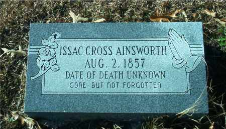 AINSWORTH, ISSAC CROSS - Columbia County, Arkansas | ISSAC CROSS AINSWORTH - Arkansas Gravestone Photos