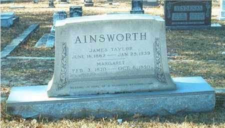 AINSWORTH, JAMES TAYLOR - Columbia County, Arkansas | JAMES TAYLOR AINSWORTH - Arkansas Gravestone Photos