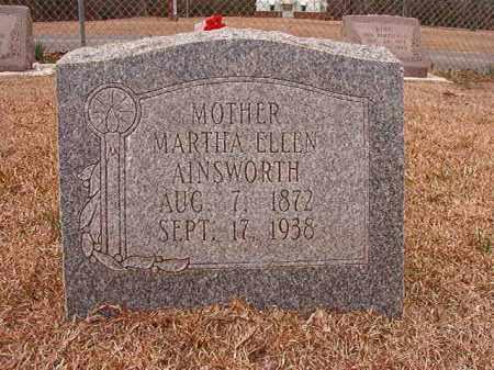 AINSWORTH, MARTHA ELLEN - Columbia County, Arkansas | MARTHA ELLEN AINSWORTH - Arkansas Gravestone Photos
