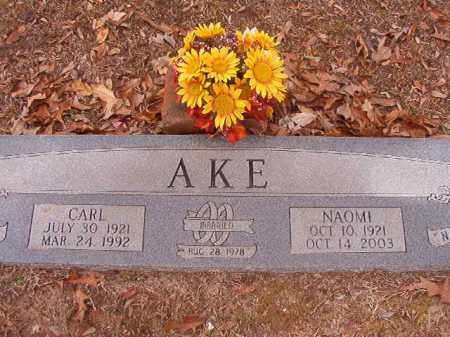 AKE, CARL - Columbia County, Arkansas | CARL AKE - Arkansas Gravestone Photos