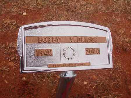 ALDRIDGE, BOBBY - Columbia County, Arkansas | BOBBY ALDRIDGE - Arkansas Gravestone Photos