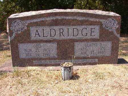 ALDRIDGE, ODIS - Columbia County, Arkansas | ODIS ALDRIDGE - Arkansas Gravestone Photos