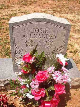 ALEXANDER, JOSIE - Columbia County, Arkansas | JOSIE ALEXANDER - Arkansas Gravestone Photos